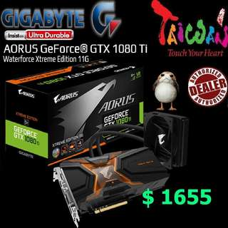 Gigabyte AORUS  GTX 1080 Ti Waterforce Xtreme Edition 11G.