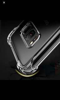 Clear Slim TPU Protective Case for Samsung and iPhones