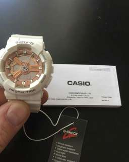 G-Shock GA110 Special White.