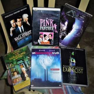 DVDs Region 3 and 1 For Sale