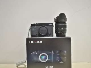 Fujifilm XE-2 with 18-55mm f2.8-4 lens