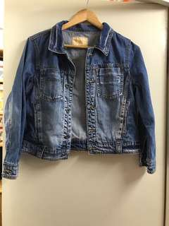 Denim jacket----S