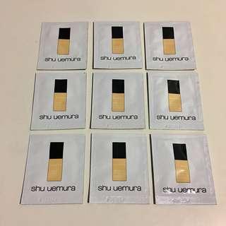 Shu Uemura the lightbulb fluid foundation N764 1ml*9 sachets