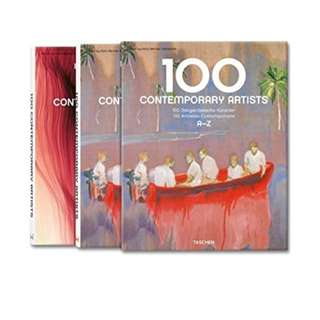 100 Contemporary Artists (Taschen 25 Anniversary) [Hardcover]