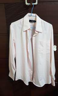 🚚 CLAY DERMAN  粉紅色襯衫
