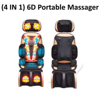 🚚 NEW 4 In 1 Portable Massage Chair ( Best Selling Item )