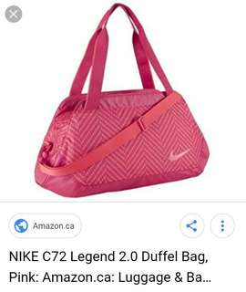 Nike authentic duffel bag