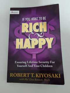 """If you want to be Rich & Happy"" book"