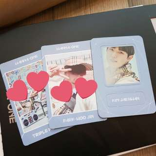 Wanna One Triple Position photo magnet (WTT Jaehwan to Woojin)