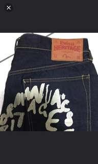 🚚 Evisu 日本製造牛仔褲