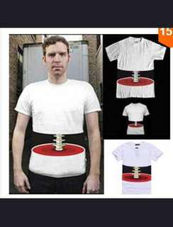 3D Funny T-Shirt Puny Geometry
