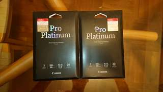 Canon Photo Paper Pro Platinum 印相紙 PT-101