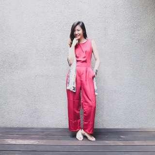 Red Jumpsuit big size