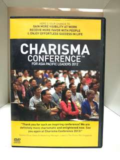🚚 💰🎈GSS SALE!! 8-IN-1 DVD CHARISMA CONFERENCE FOR ASIA PACIFIC LEADERS 2012!! LEARN FIRST HAND FROM 10 HIGH PROFILE BUSINESS LEADERS!! DO NOTE THAT 1 SIDE OF THE BOX DOESNT CLOSE VERY WELL, BUT DOESNT AFFECT THE CD PLACEMENT!! SO NO WORRIES!! HURRY!!