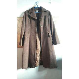 🚚 長版毛料大衣