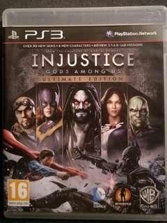 PS3 Injustice
