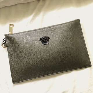 Versace Leather Clutch (Unisex)
