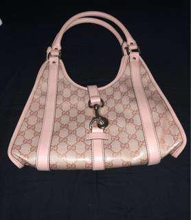 GUCCI handbag rose quartz