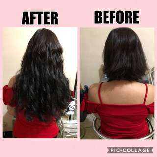 Human Hair Extensions CURLY