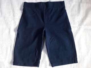 Navy Mid-Sweat Pants Women