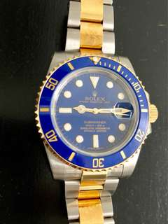 Rolex submariner 116613LB new old stock