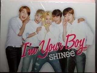 SHINee I'm your boy 台版連鍾鉉小卡