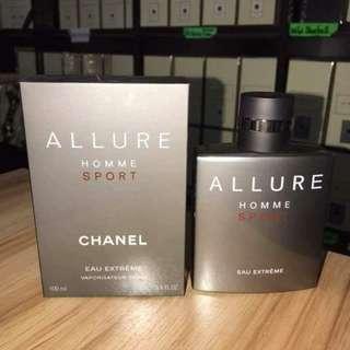 Authentic Chanel Allure perfume