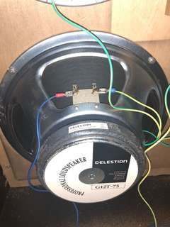 Celestion G12T-75 8ohms England Made