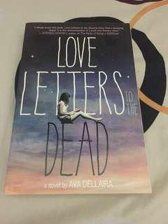 Love Letters to the Dead novel bahasa inggris