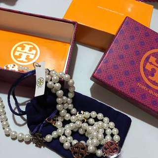 Tory Burch Long Nivel Necklace