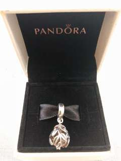 Pandora Charm-Golden Laurel Leaves Pendant
