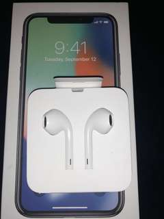 Apple Earpods w/ Lighting Connector (From Iphone X)