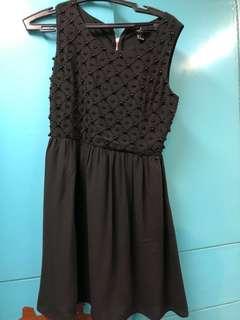 FOREVER 21 Semi-Formal Black Dress