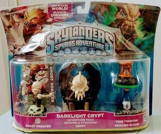 Skylander Spyro Adventure Darklight Crypt
