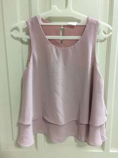 Belle ivy top pink