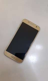 Samsung Galaxy S7 Platinum Gold 32gb almost brand new