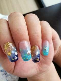 ❤HOME BASED USJ 1 Gel polish Gelish service mani pedi manicure gel pedicure