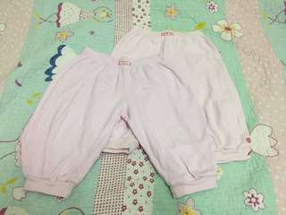 2pc baby pink pants