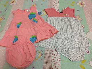2 set baby girl skirts
