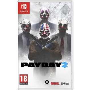 🚚 PayDay 2 (Nintendo Switch)