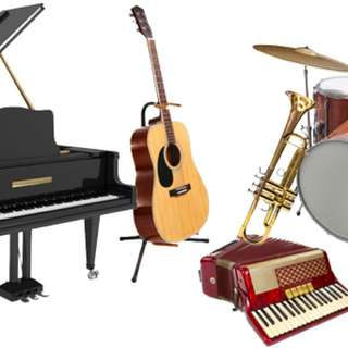Learn a new music instrument!