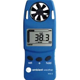 Anemometer WM-2 Weather Windspeed Temperature Wind Meter