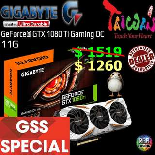 Gigabyte GTX 1080 Ti Gaming OC 11G.., ( Till.. 30 June 2018 Offer  Ends...)
