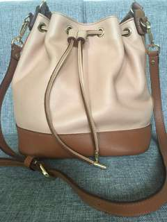 REPRICED! GENUINE LEATHER Bucket Bag