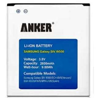 Anker 2600mAh Li-ion Battery for Samsung Galaxy S4