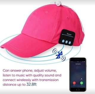 Wireless Music Cap