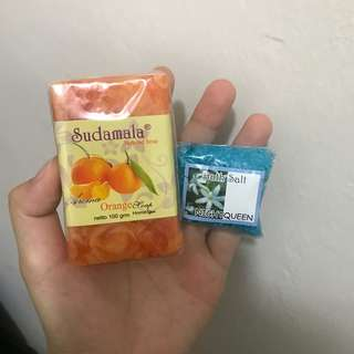 INSTOCK BALI Orange Soap & Bath Salt