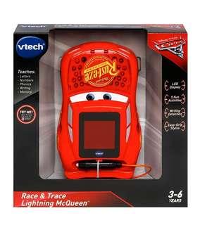 🚚 (In Stock)   VTech Cars Race & Trace Lightning McQueen