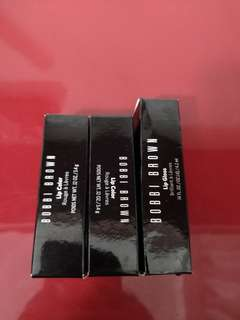 Bobbi Brown lipstick and lip gloss