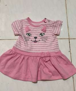 2pcs Tops for baby girl(3-6months)